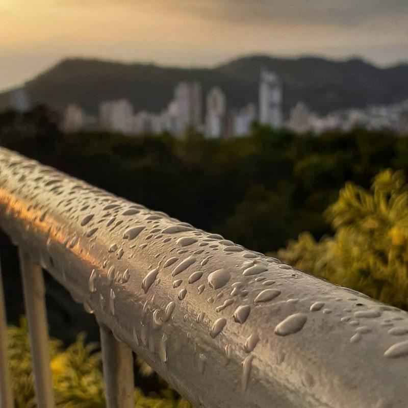 Chuva em Itajaí e região deve aparecer durante o fim de semana – Foto: Elias Gotaski