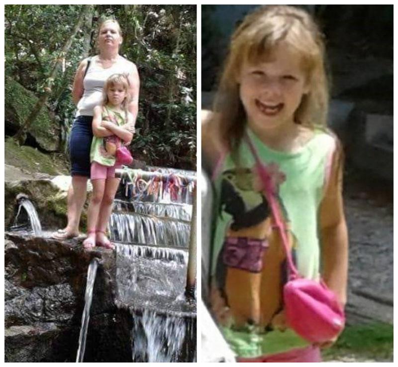 mãe e filha que morreram afogadas