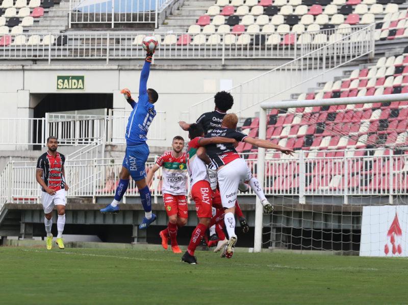 JEC e Brusque fazem bom jogo e decisão fica para quarta-feira (28) – Foto: Vitor Forcellini/JEC