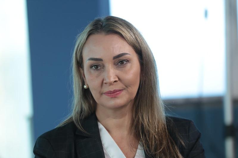 Esta é a segunda vez que Daniela vem para Joinville como governadora interina – Foto: Mauricio Vieira/Secom/Divulgação/ND