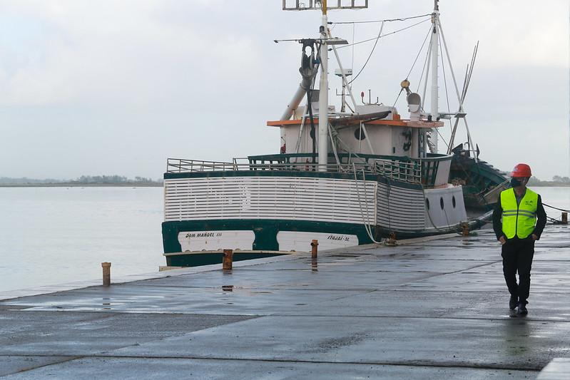 Governadora interina realizou visita técnica ao Terminal Pesqueiro de Laguna – Foto: Julio Cavalheiro/Secom