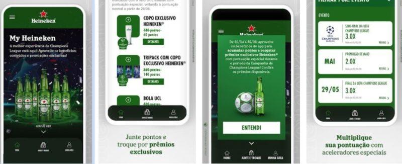 MyHeineken: novo app da cervejaria tem delivery, clube de pontos e promoções - Reprodução / Play Store