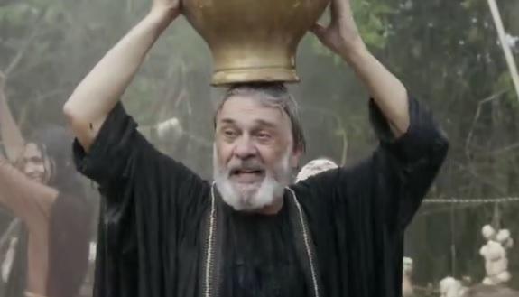 Em Gênesis nesta quinta (22), Abrão fica surpreso com a atitude de Ló – Foto: Reprodução/R7