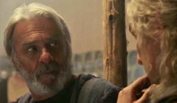 Abrão fala com Lúcifer – Foto: Reprodução/R7