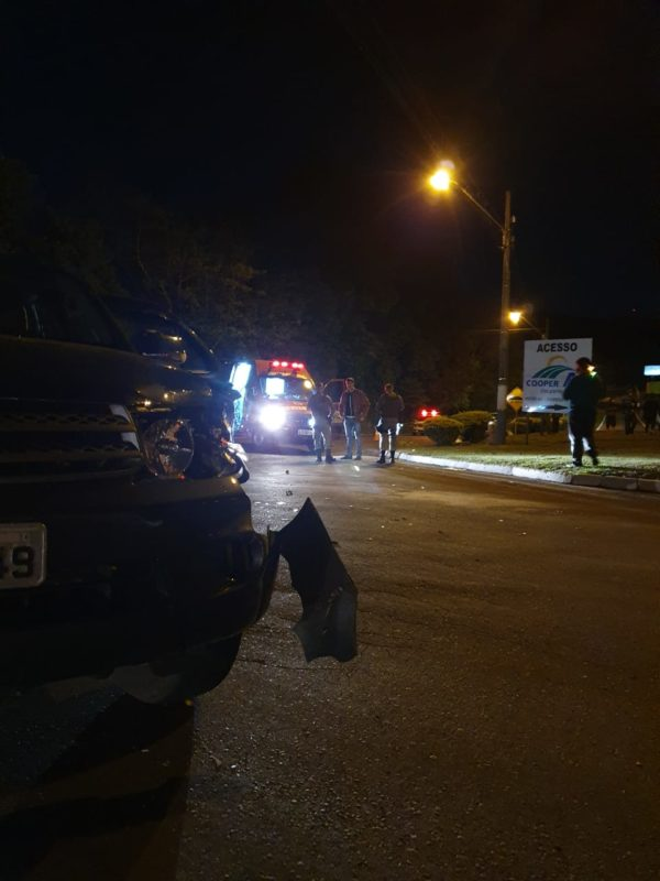 Corpo de Bombeiros registrou acidente com morte em rodovia estadual do Extremo-Oeste catarinense – Foto: Corpo de Bombeiros/Divulgação ND