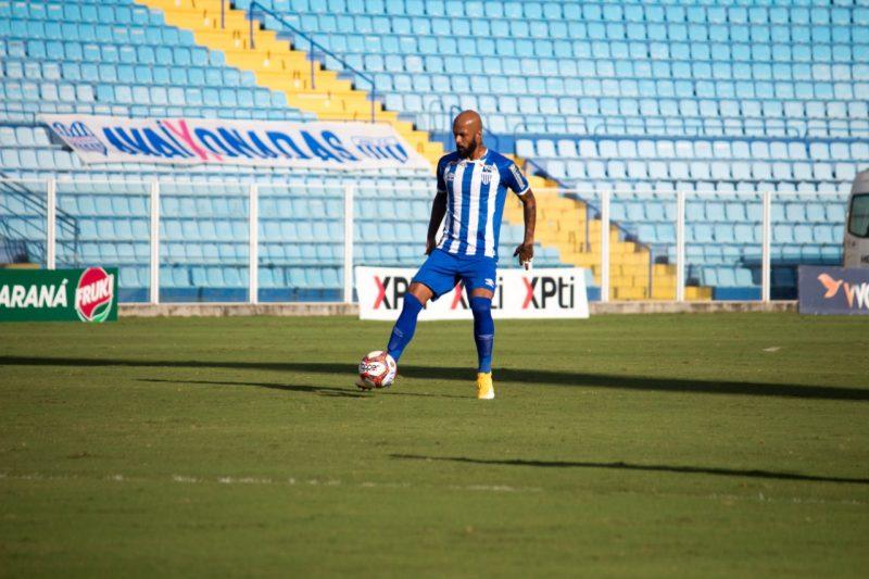 Volante Bruno Silva, com a camisa do Avaí – Foto: André palma Ribeiro/Avaí FC