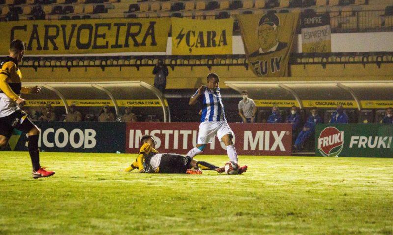 Criciúma termina primeira fase do Catarinense na penúltima colocação da primeira fase da competição – Foto: André Palma Ribeiro/ Avaí FC