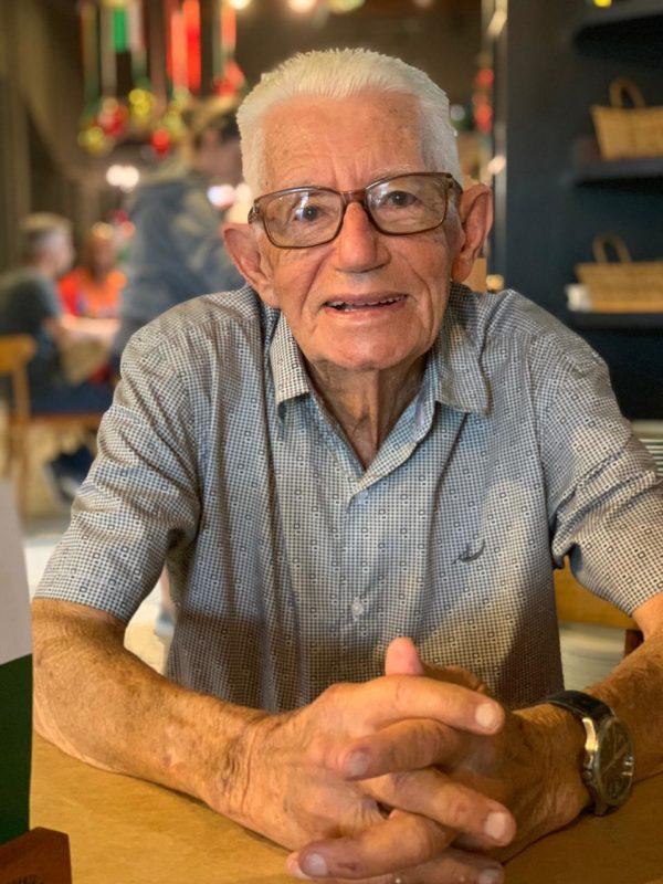 Ângelo Bortollot foi o primeiro dono de restaurante na capital da gastronimia típico ítalo-brasileira em Nova Veneza no Sul do Estado – Foto: Angelo Bortolotto.