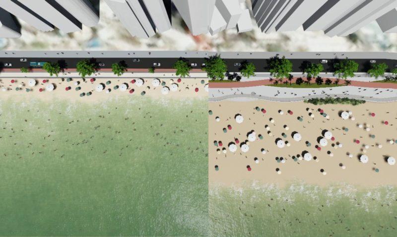 Um dos principais pontos turísticos de BC está mudando – Foto: Secom BC/Divulgação