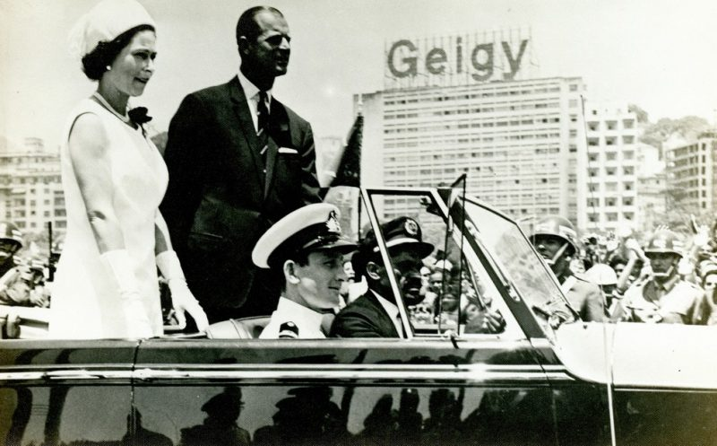 Casal real visitou o Brasil em 1968 – Foto: Arquivo Histórico do Itamaraty/Reprodução/ND