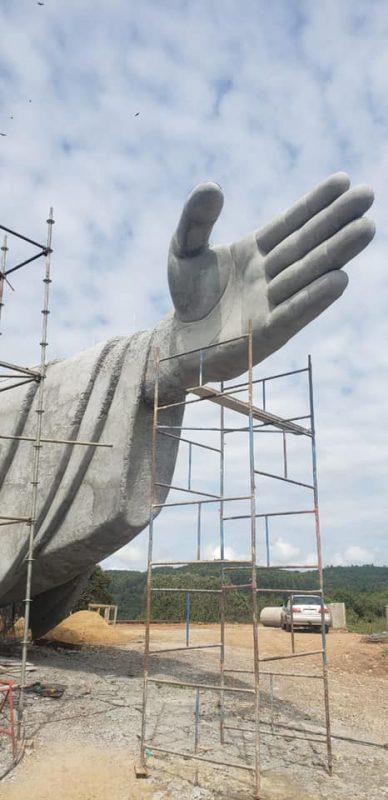 Todos os detalhes da obra foram minimamente planejados. – Foto: Associação Amigos de Cristo/Divulgação/ND