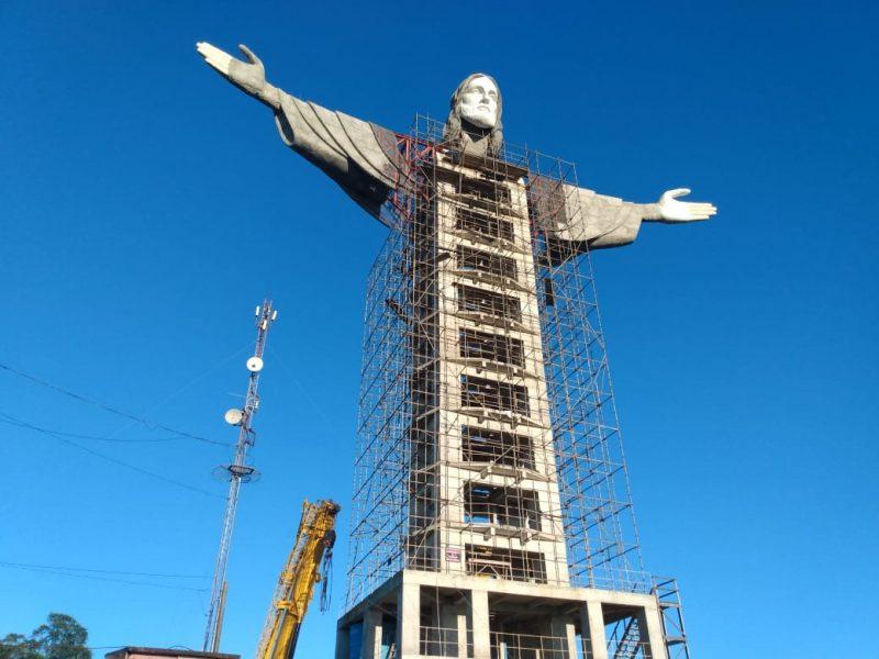 Cristo terá 43 metros. – Foto: Reprodução/Amigos de Cristo Encantado/ND