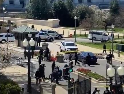 Ataque ao Capitólio dos EUA foi registrado nesta sexta-feira (2) – Foto: Twitter/Reprodução/ND
