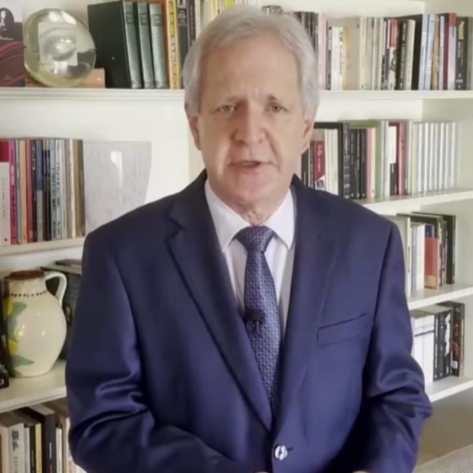 Augusto Nunes, jornalista e futuro âncora do Jornal da Record