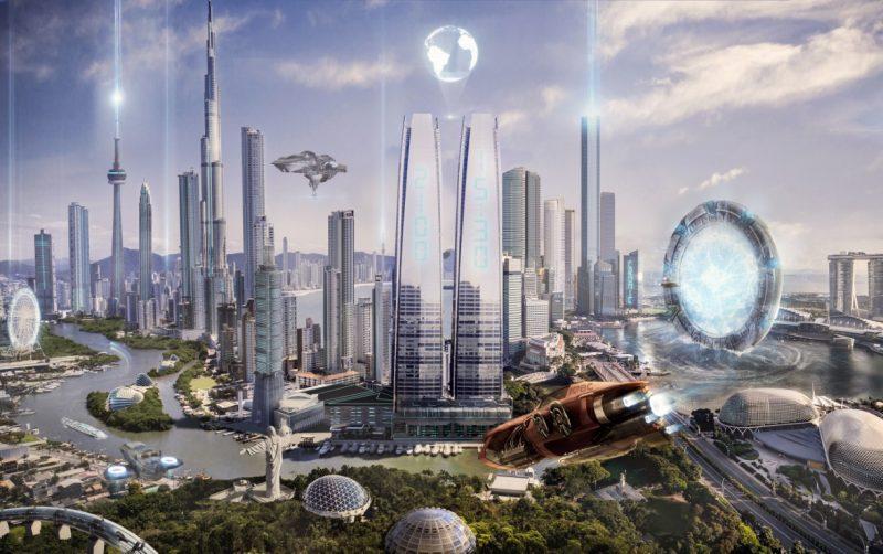 """Balneário Camboriú 2100"" estima como será a Dubai brasileira nos próximos 80 anos – Foto: Alison Koller/Cronic Digital"