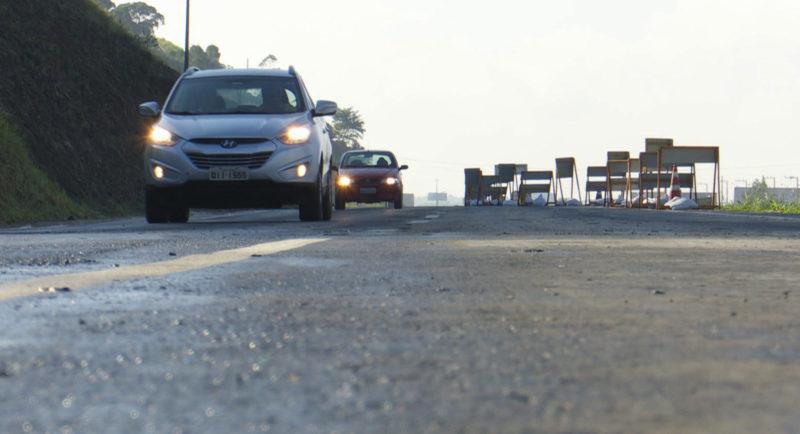Rodovias federais tiveram cortes de orçamento – Foto: Reprodução/NDTV Blumenau