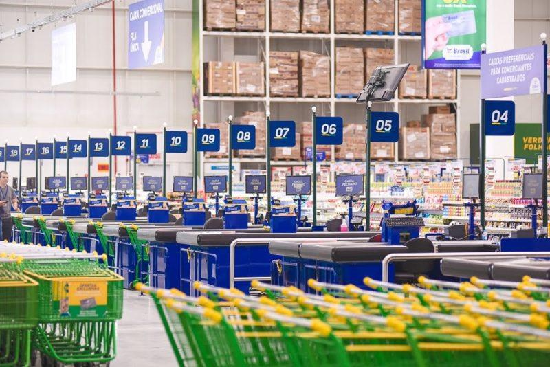 Rede instalou, no último ano, sua maior loja em Palhoça – Foto: Divulgação/ND