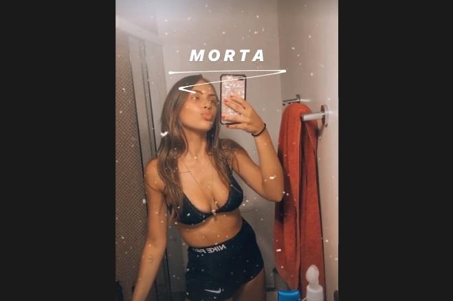 Bruna gosta de compartilhar com seguidores sua rotina. Em destaque, postagens com treinos de exercícios físicos, estilo de vida e trabalhos. – Foto: @bordinibruna/Instagram/Reprodução