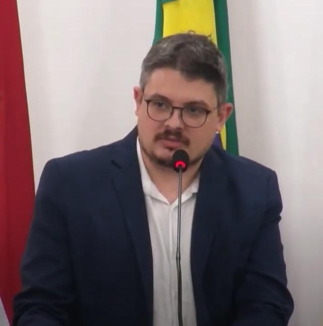 Bruno Cunha, vereador em Blumenau – Foto: Divulgação/CMB/ND