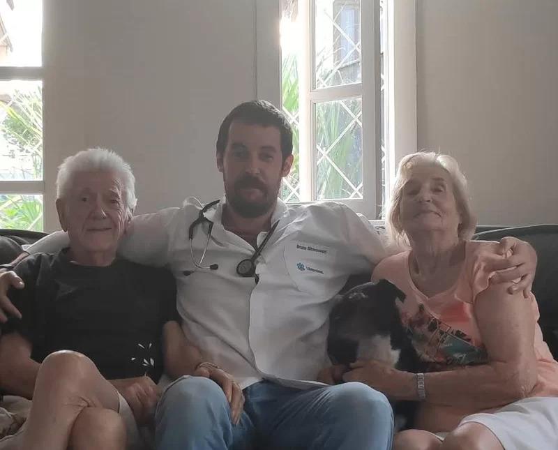 Bruno mora com os avós, e precisa de ajuda para pagar a faculdade de medicina – Foto: Arquivo pessoal/ND