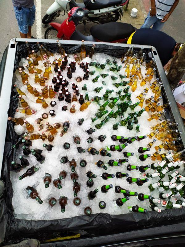 Após confusão por caminhonete com cerveja, empresário de BC arrecada cestas básicas – Foto: Divulgação/Redes Sociais