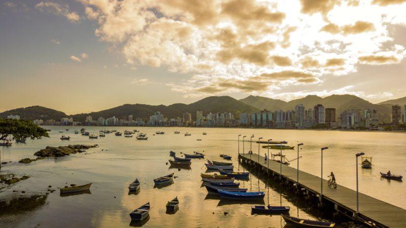 Canto da Praia é o reduto dos pescadores locais – Foto: Prefeitura de Itapema/Divulgação