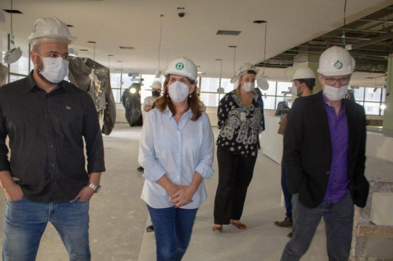 Obras do Complexo Madre Teresa não têm prazo para terminarem, segundo secretária – Foto: Ricardo Ruas
