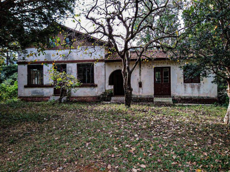 Casa onde morava o agricultor Adelino Companhoni que desapareceu em Cordilheira Alta