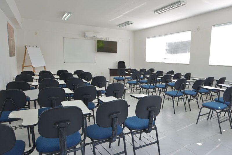 Estrutura da CDL de Palhoça para a realização de cursos e treinamentos – Foto: Divulgação/ND