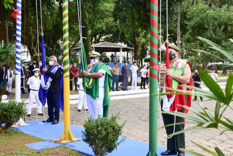 Programação começou com celebração transmitida online – Foto: Prefeitura SFS/Divulgação