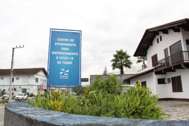 Central de atendimento à Covid-19 foi desativada devido à diminuição no número de casos e a baixa procura – Foto: Waldemar Neto/Ascom PMT/Divulgação/ND