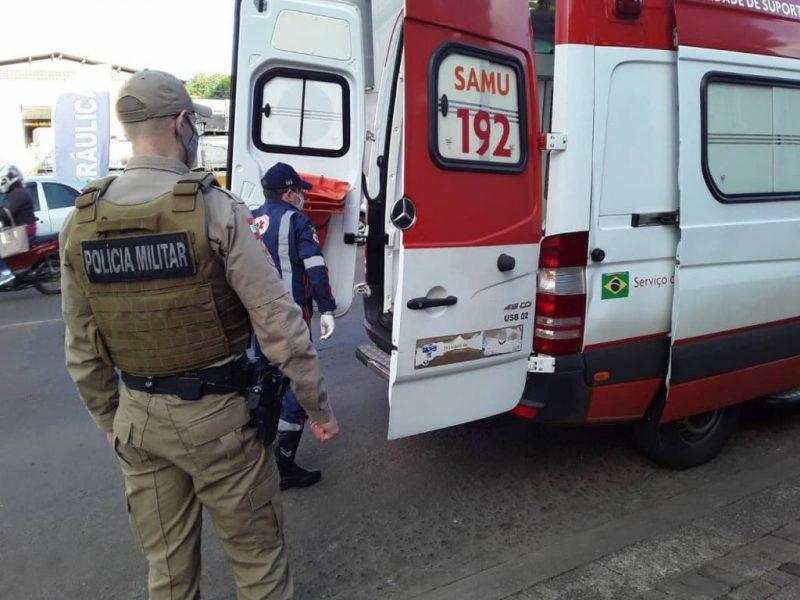 Caso aconteceu em Chapecó, no Oeste catarinense. – Foto: PM/ND