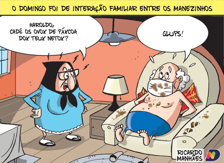 Charge do ND desta segunda-feira (5)