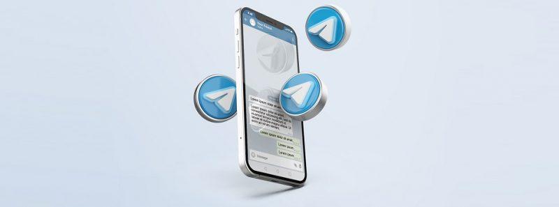 Telegram: conheça função que é igual ao Clubhouse – e ainda permite gravar conversas - Maquete psd criado por syifa5610 - br.freepik.com