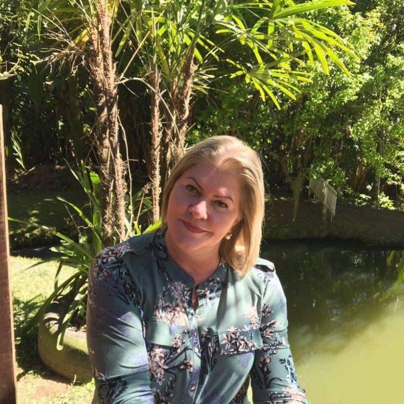 Clarice atuava como diretora da EBM Profª Maria Helena Trentini Machado – Foto: Redes Sociais