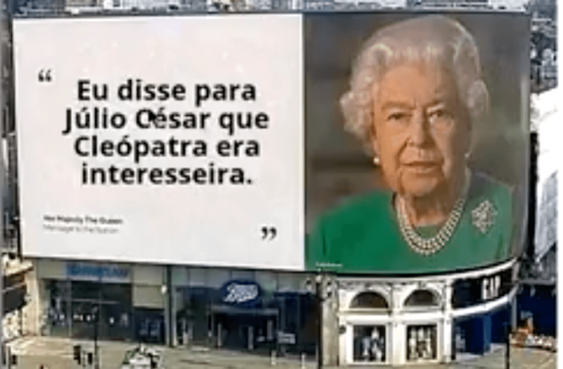 Elizabeth é a monarca com o maior reinado: desde 1952 ela é a soberana no Reino Unido – Foto: Redes sociais
