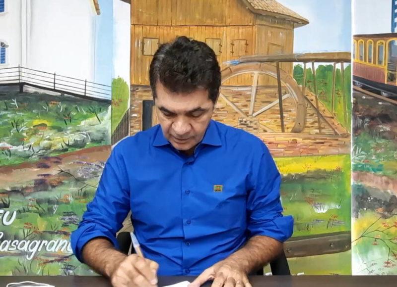 Prefeito Clésio Salvaro, de Criciúma, adota campanha que sugere modelo de gestão para o país – Foto: Secom/Criciúma
