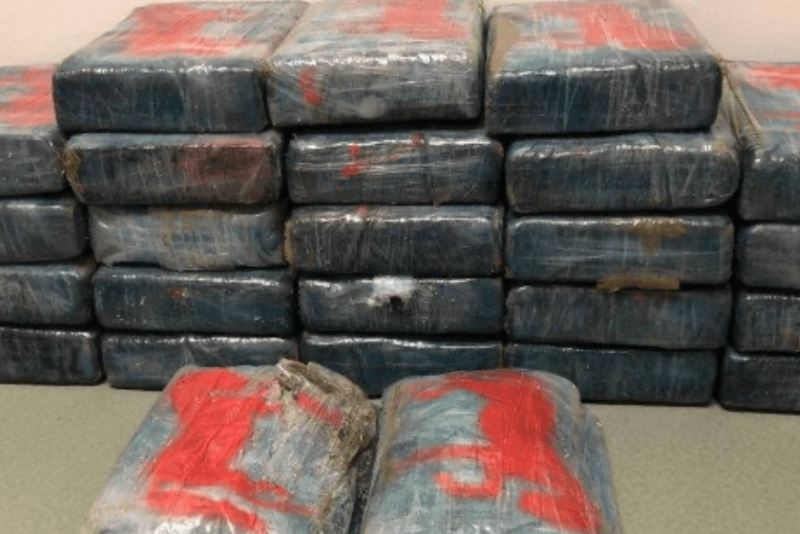 Cocaína encontrada por banhista vale uma fortuna… no mundo do crime – Foto: Reprodução
