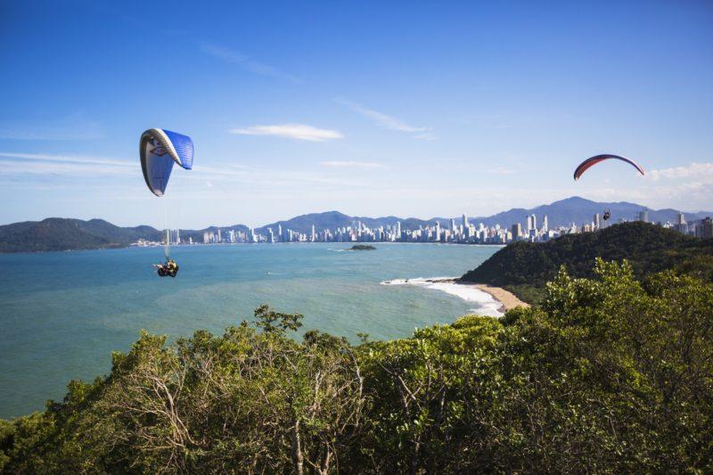 Vista do Morro do Careca, em Balneário Camboriú – Foto: Prefeitura de Balneário Camboriú/Divulgação