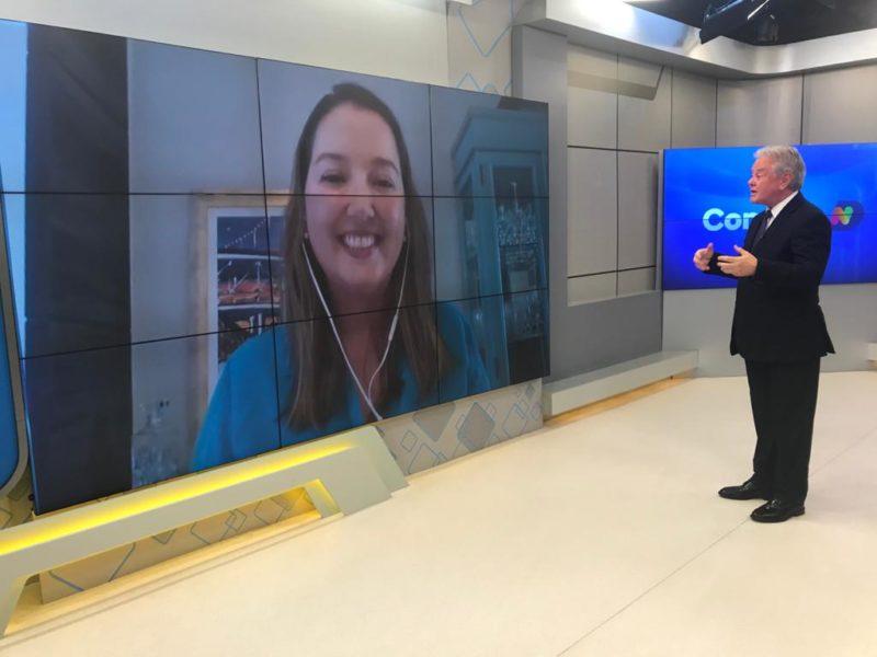 Paulo Alceu comanda o Conexão ND desta terça-feira – Foto: NDTV/Reprodução