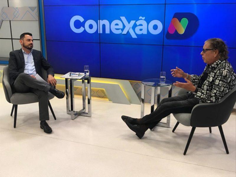 Conexão ND desta quarta-feira recebe o jornalista e colunista Cacau Menezes – Foto: NDTV/Reprodução