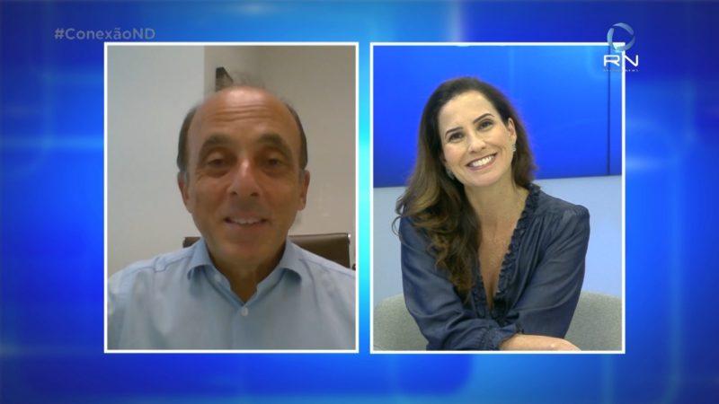 Conexão ND recebe presidente da Sociedade Brasileira de Imunizações – Foto: NDTV/Reprodução