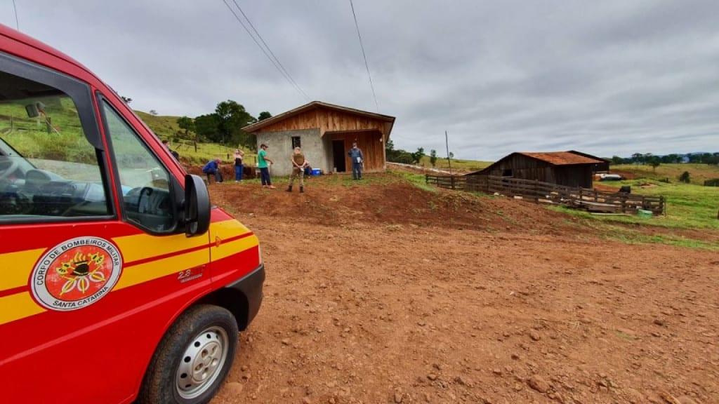 Polícia Civil investiga as causas do crime. - Corpo de Bombeiros/Divulgação/ND