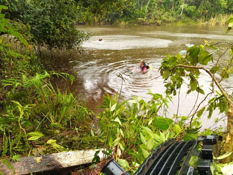 Acidente aconteceu na manhã desta quarta-feira (21), à margem da BR-280 – Foto: Bombeiros Militares/Divulgação