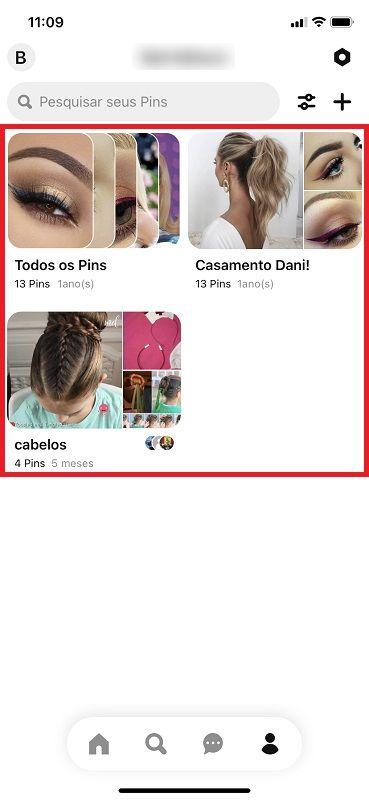 Transformar em secreta uma pasta já existente – Passo 1 - Crédito: Reprodução/Pinterest/33Giga/ND
