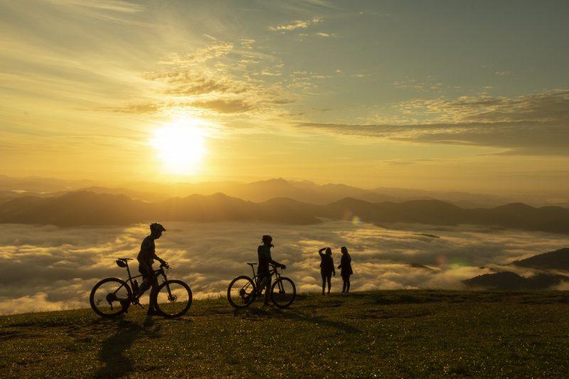 Um passeio para ficar marcado para sempre na vida do ciclista – Foto: Daniele F. Borchardt