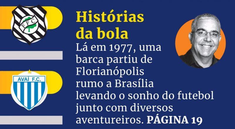 Matéria ganhou destaque na edição impressa do jornal ND. Sábado e domino, 3 e 4 de abril. – Foto: reprid