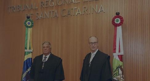 Desembargador Fernando Carioni novo presidente do TRE/SC – Foto: Divulgação