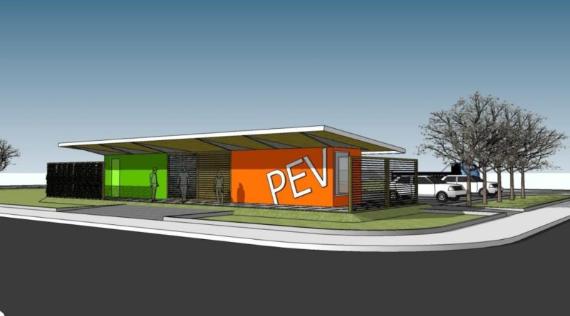 Projeto dos próximos ecopontos da Prefeitura de Florianópolis. – Foto: PMF/Divulgação/ND