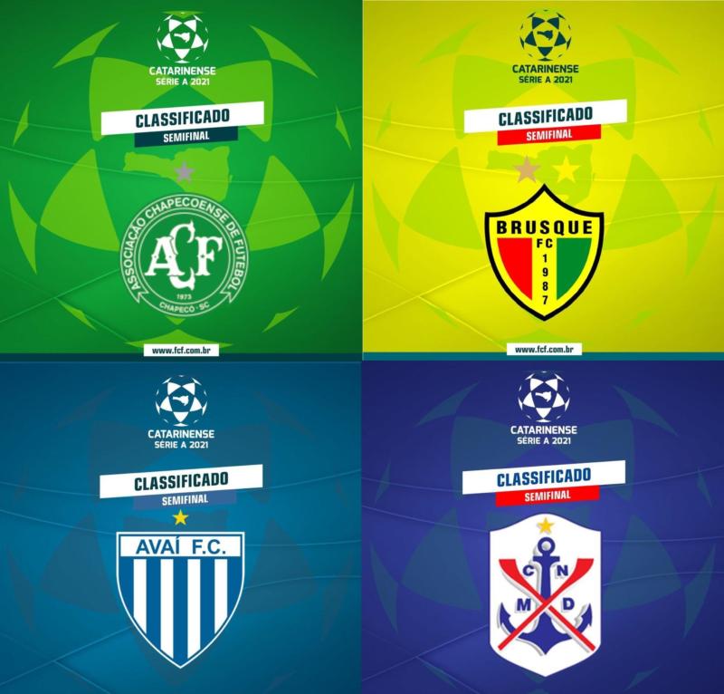 Enquete: Qual o time será o campeão Catarinense de 2021? – Foto: FCF/montagem/ND